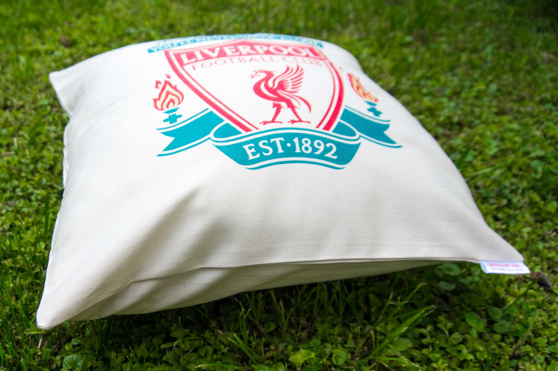 Vankúš s logom FC Liverpool