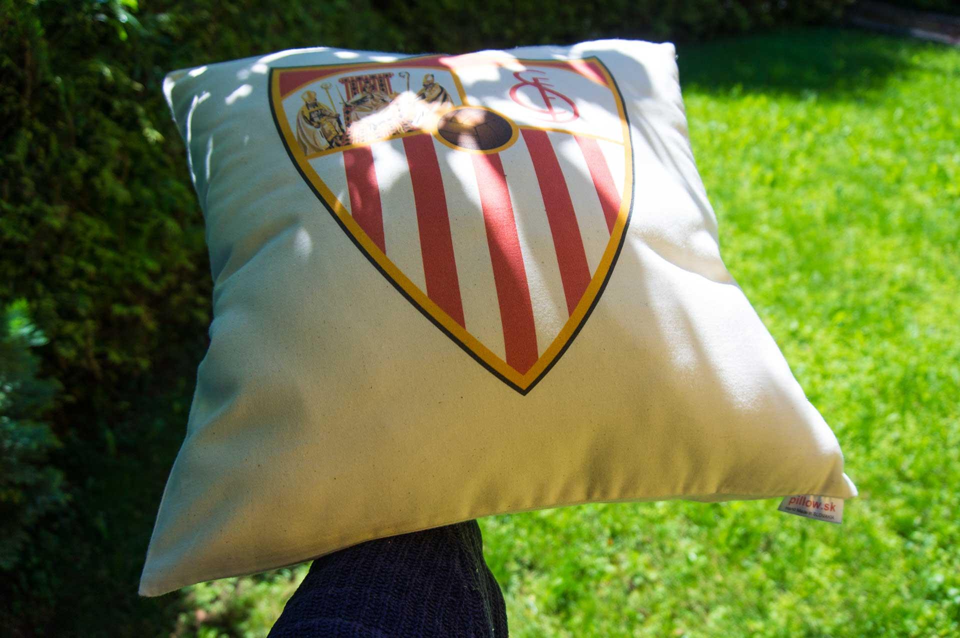 Vankúš s logom FC Sevilla