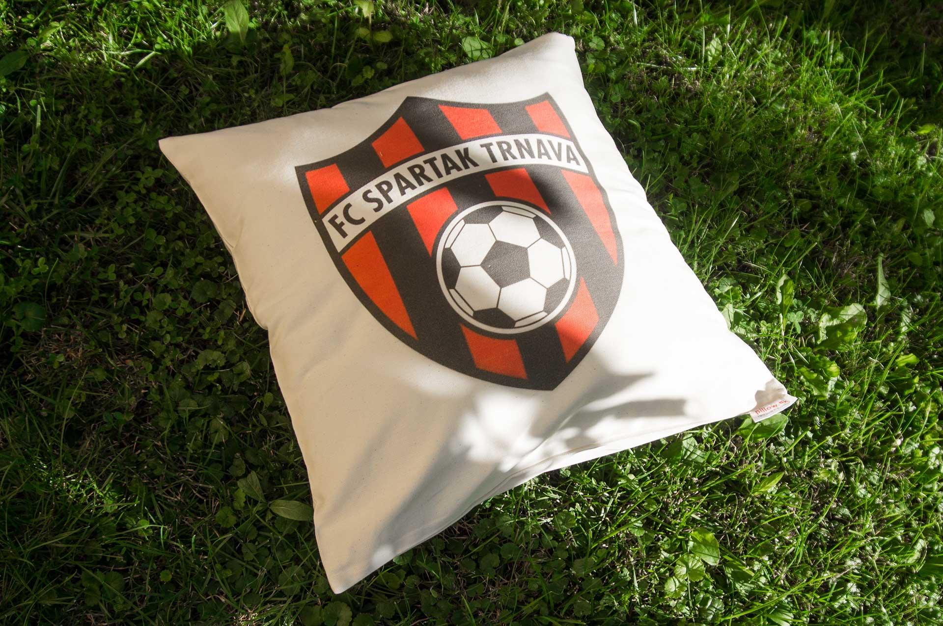 Vankúš s logom Spartak Trnava