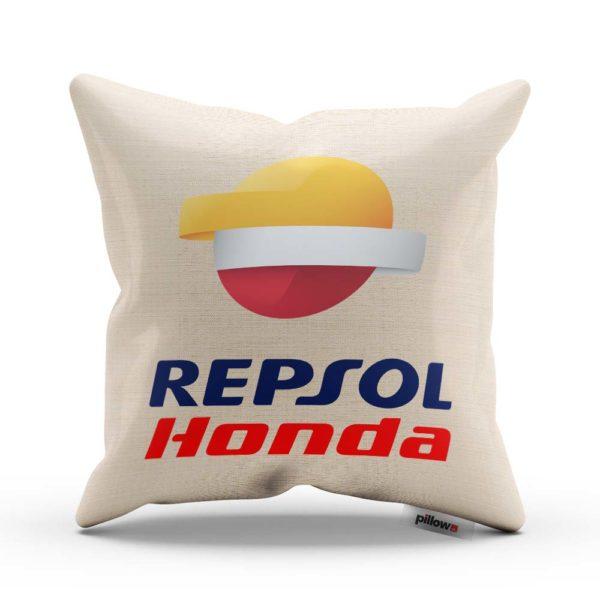 Vankúš pretekárskeho teamu Repsol Honda Team z MotoGP