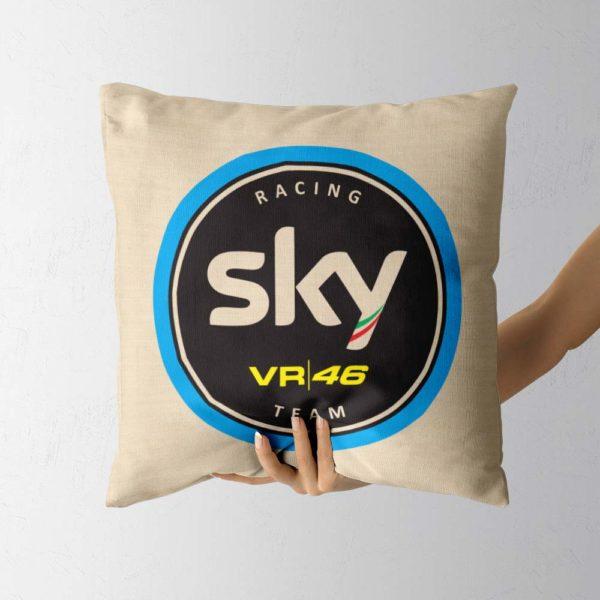 Darčekový vankúš s logom Sky Racing Team VR46 z MotoGP