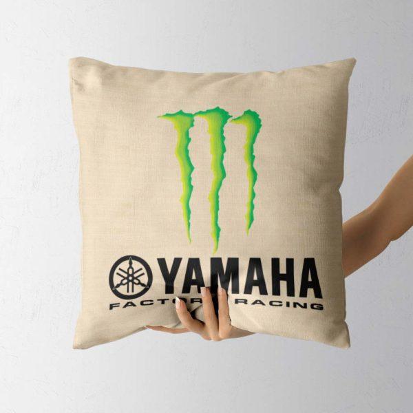 Darčekový vankúš teamu Monster Energy Yamaha z MotoGP