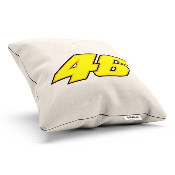 Vankúšik Valentino Rossi s číslom 46 z MotoGP