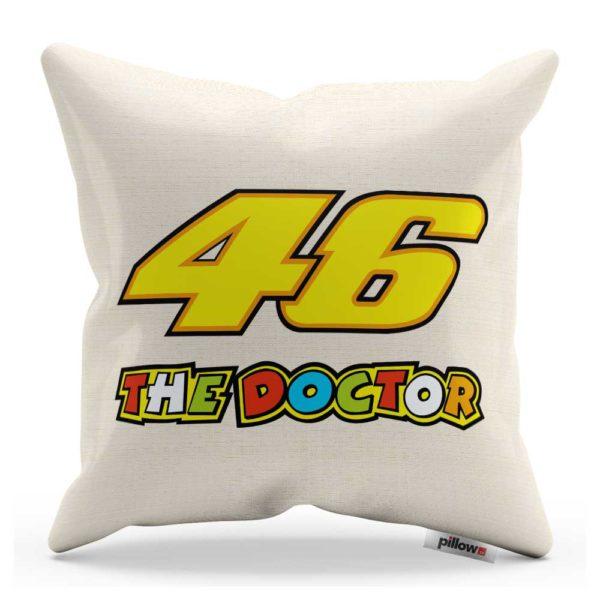 Vankúš Valentino Rossi s nápisom Doctor