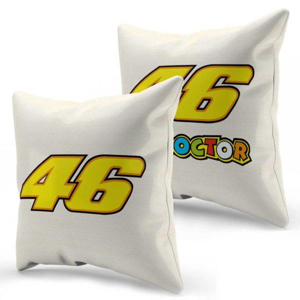 Vankúše Valentino Rossi s ikonickým logom