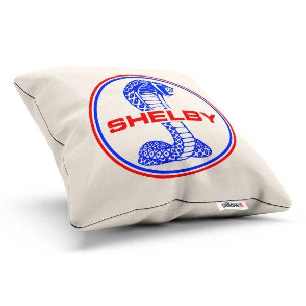 Vankúšik s farebným logom automobilu Shelby