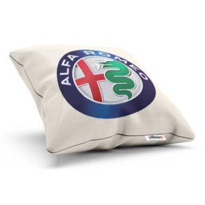 Vankúšik s logom automobilky Alfa Romeo