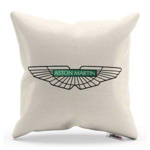 Vankúš s logom automobilu Aston Martin
