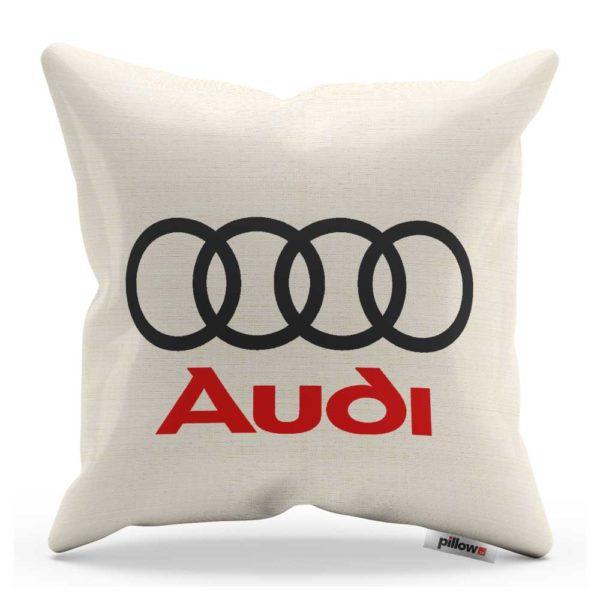 Vankúš s logom automobilu Audi
