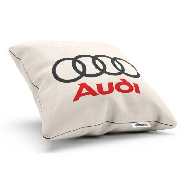 Vankúšik s logom automobilovej značky Audi