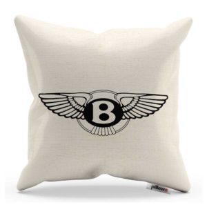 Vankúš s logom automobilu Bentley
