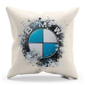 Vankúš s kreatívnym logom automobilu BMW