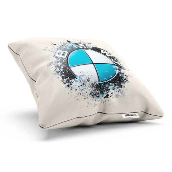 Vankúš s kreatívnym logom áut BMW