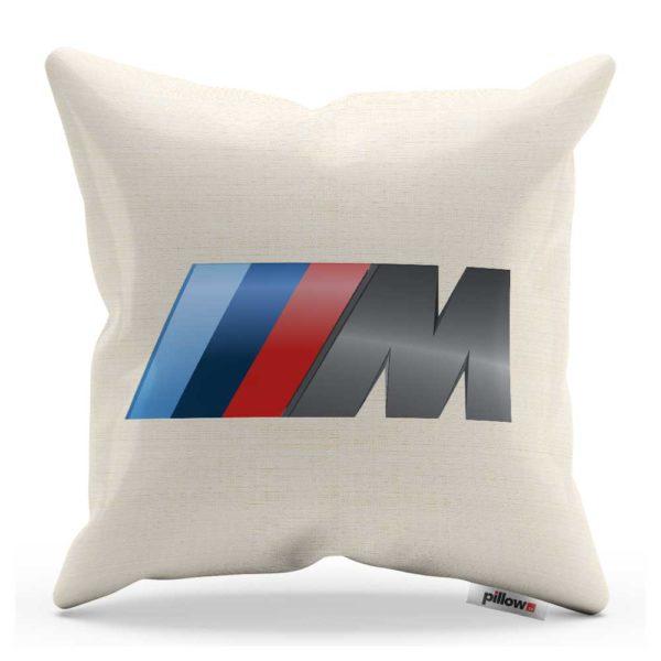 Vankúš s logom automobilu BMW rady M