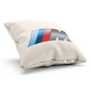 Vankúšik s logom automobilovej značky BMW rady M