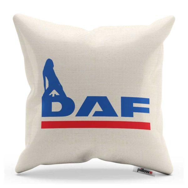 Vankúš s logom kamiónu DAF
