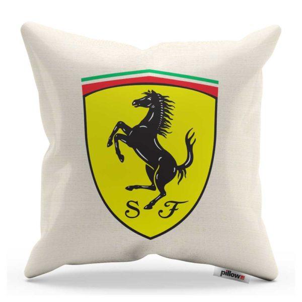 Vankúš s logom automobilu Ferrari