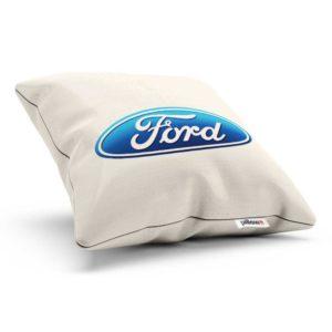 Vankúšik s logom automobilovej značky Ford