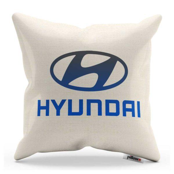 Vankúš s logom automobilu Hyundai