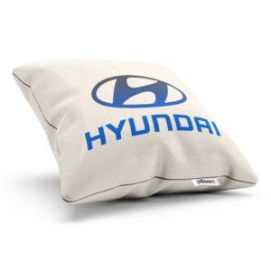 Vankúšik s logom automobilovej značky Hyundai