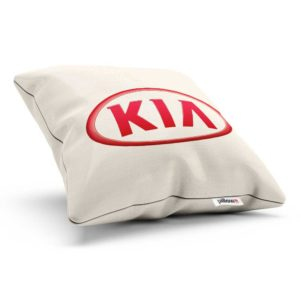 Vankúšik s logom automobilovej značky KIA
