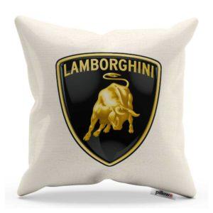 Vankúš s logom automobilu Lamborghini