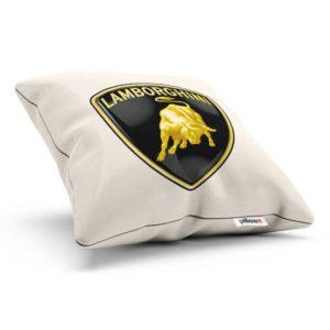 Vankúšik s logom automobilovej značky Lamborghini