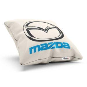Vankúšik s logom automobilovej značky Mazda