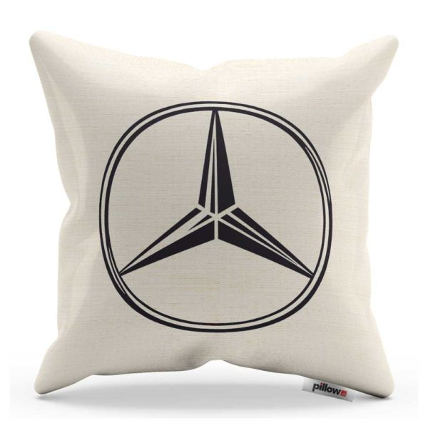 Vankúš s logom automobilu Mercedes Benz
