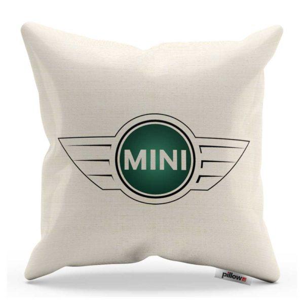 Vankúš s logom automobilu Mini