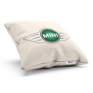 Vankúšik s logom automobilovej značky Mini