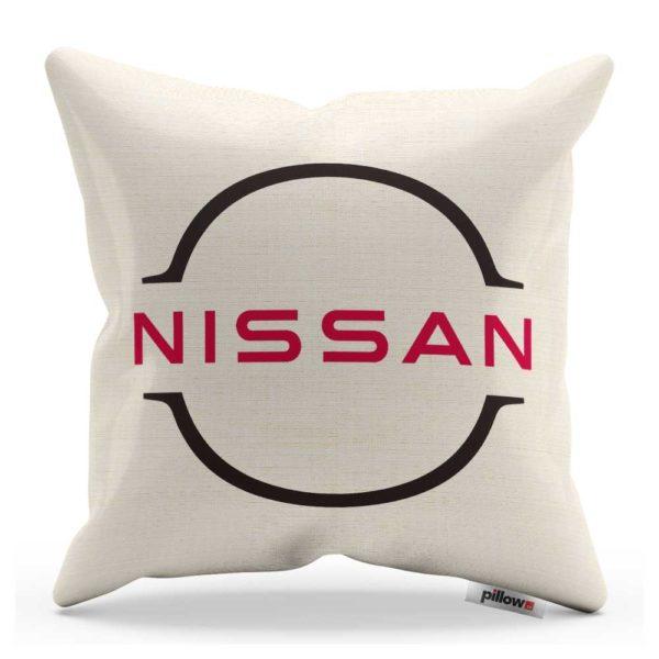 Vankúš s logom automobilu Nissan