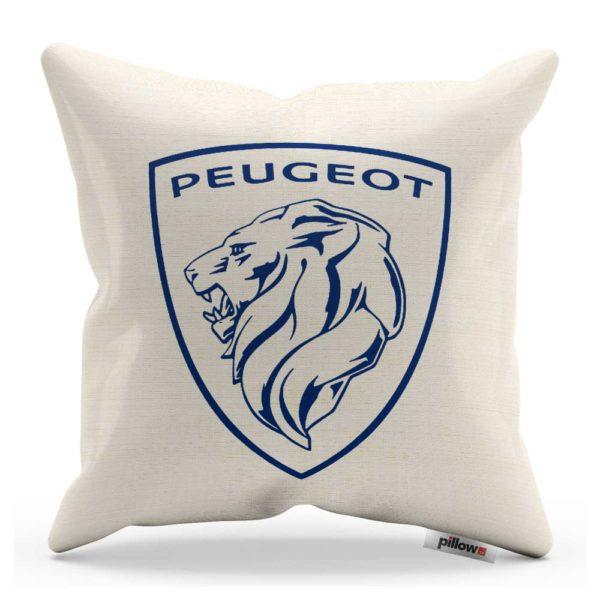 Vankúš s logom automobilu Peugeot