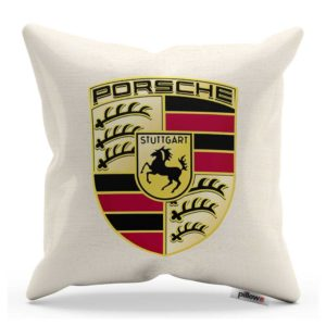 Vankúš s logom automobilu Porsche