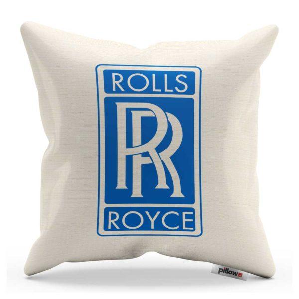 Vankúš s logom automobilu Rolls Royce