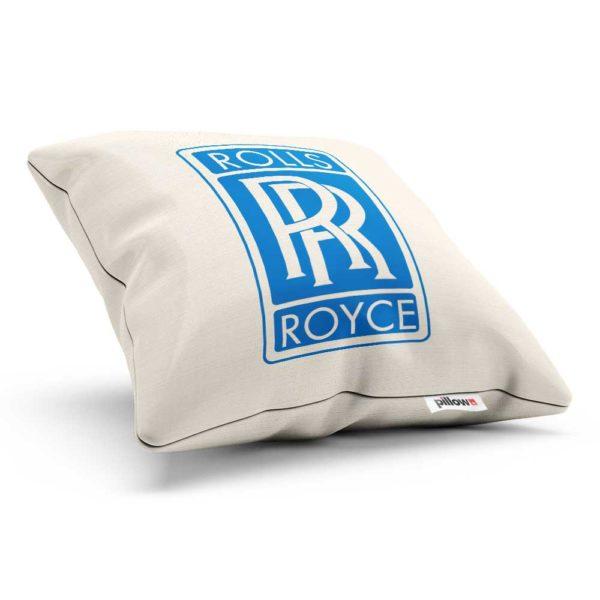 Vankúšik s logom automobilovej značky Rolls Royce
