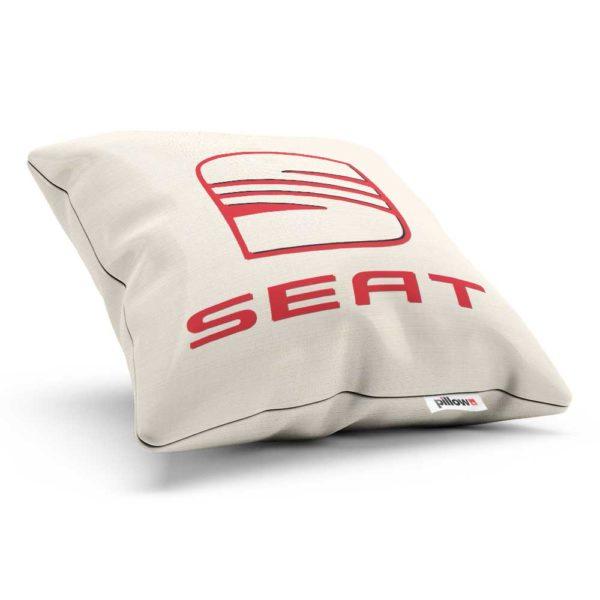 Vankúšik s logom automobilovej značky Seat