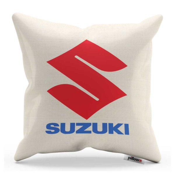 Vankúš s logom automobilu Suzuki