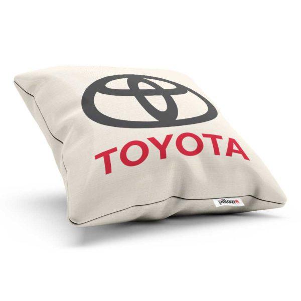 Vankúšik s logom automobilovej značky Toyota
