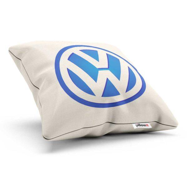 Vankúšik s logom automobilovej značky Volkswagen