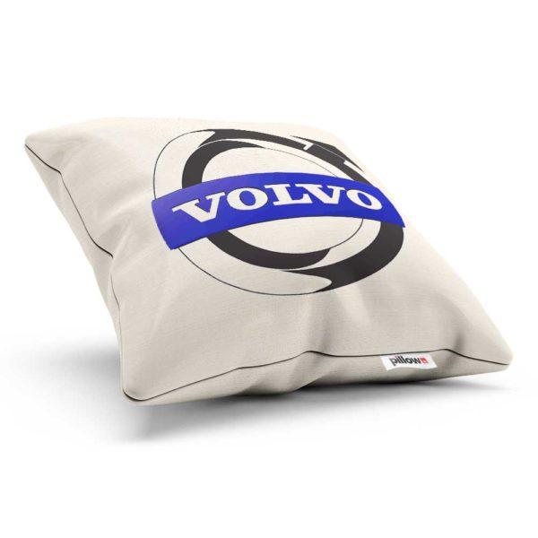 Vankúšik s logom automobilovej značky Volvo