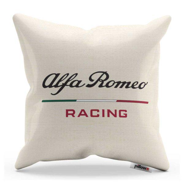 Vankúš s logom teamu Alfa Romeo Racing z F1