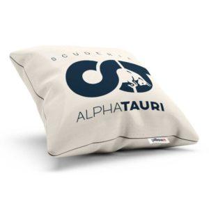 Vankúš s logom teamu Scuderia AlphaTauri z F1