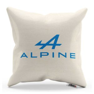 Vankúš s logom teamu Alpine F1 Team