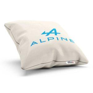 Bavlnený vankúš s logom teamu Alpine F1 Team