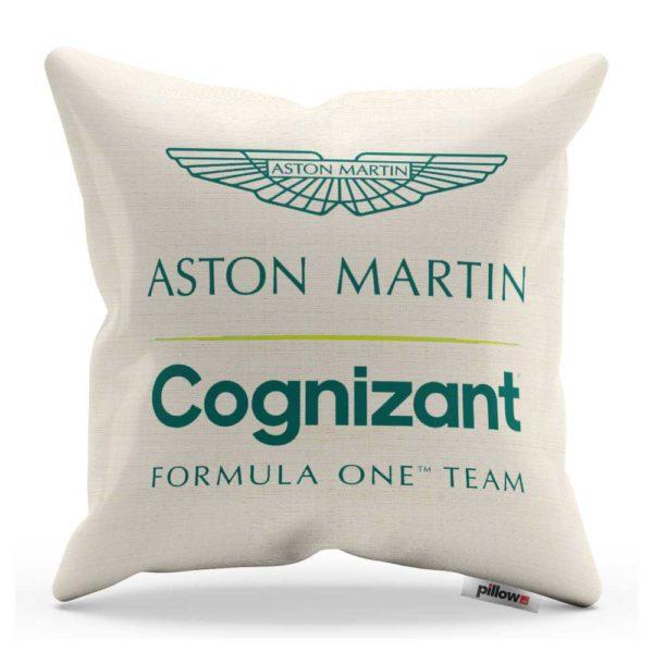 Vankúš s logom teamu Aston Martin Cognizant F1 Team