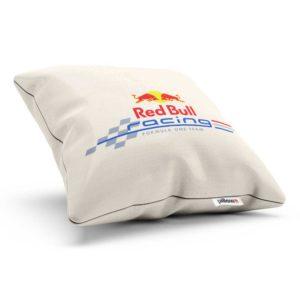 Bavlnený vankúš s logom teamu Red Bull Racing