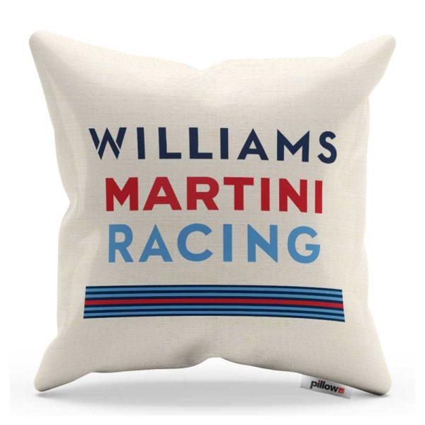 Vankúš s logom pretekárskeho teamu Scuderia Ferrari