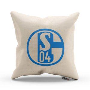 Vankúš Schalke 04 s logom futbalového klubu
