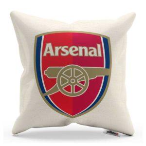 Vankúš Arsenal FC s logom futbalového klubu
